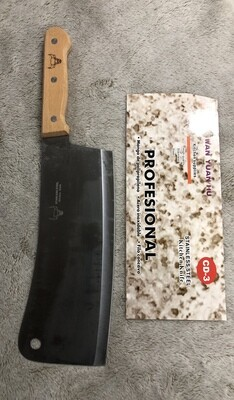 Heavy Stainless steel professional butchers cleaver knife