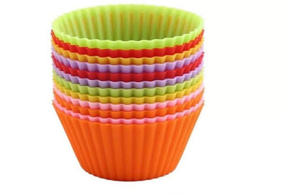 Silicon Cupcake Mould Set Of 4