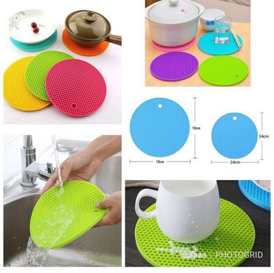 Heat Resistant Silicon Mat Set Of 2
