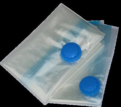 Vacuum compressor storage bags; 4 bags -(105x70), +pump. One bag Can store 1 duvet