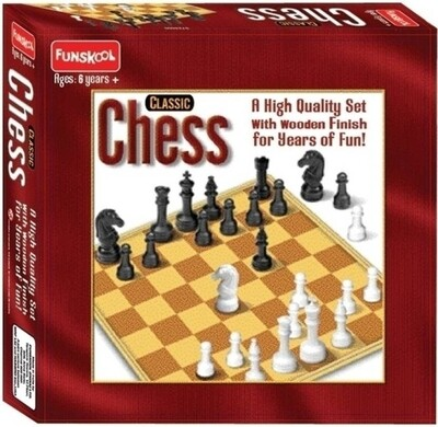 Funskool CLASSIC CHESS game AGE 6YRS+