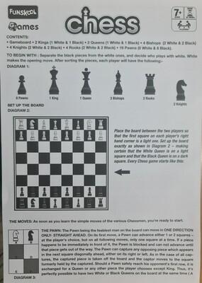 Funskool games Chess board