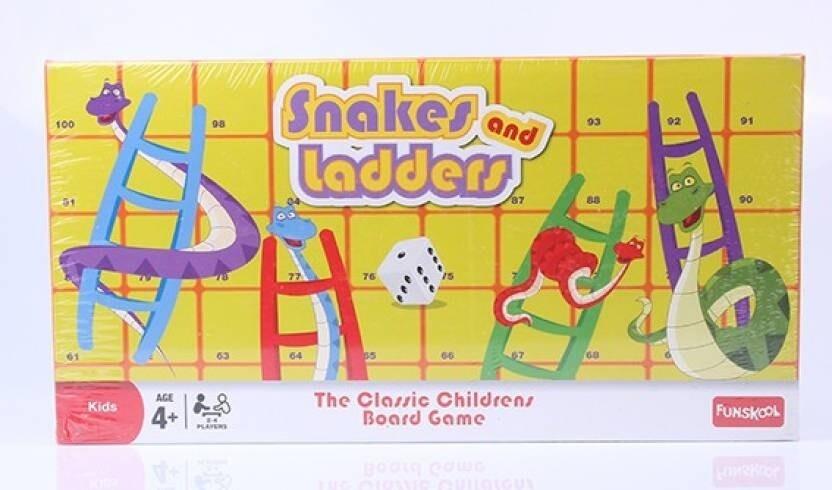 Funskool SNAKES & LADDERS game