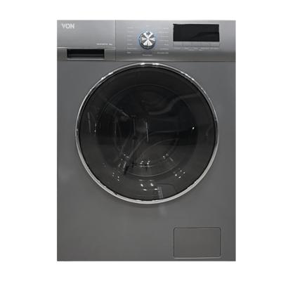 Von Hotpoint VALW-08FXS Front Load Washing Machine Silver 8KG