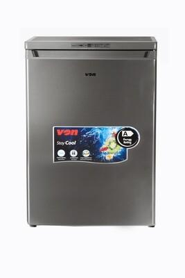 Von Hotpoint VAFM-14DHS Upright Freezer, 92L - Silver