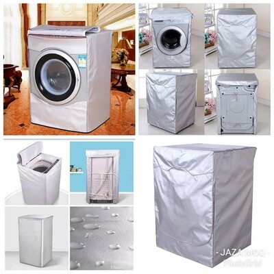Washing machine covers Front load.  Size: 85*64*60cm. Silver color only in stock.  Comes with a free gift key holder