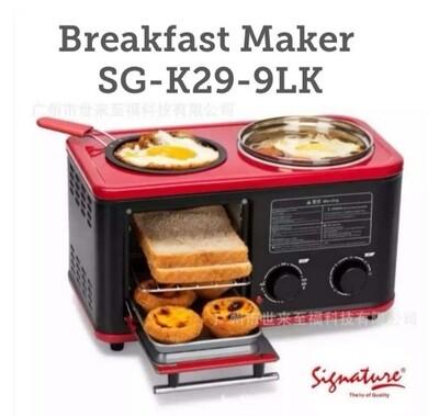 Signature breakfast maker