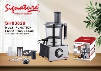 Sinature multi function food processor 220-240v