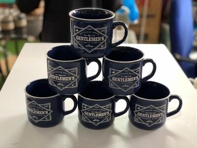 Sbest Mugs 6pcs Gentlemen's blue