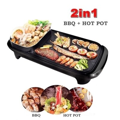 Electric Goldhorse multifunction electric baking pan griddle grill