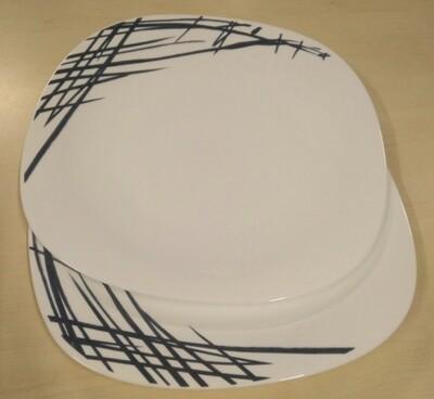 Opal Quadra dinner plate 11