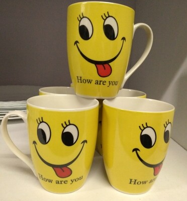 Sbest How are you Mug set of 6