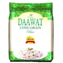 RICE AT HOME Daawat long grain rice 5kg, +2kg free