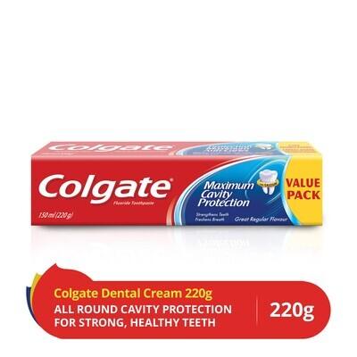 Bathroom Bully: Colgate max protection 150ml + 75ml free