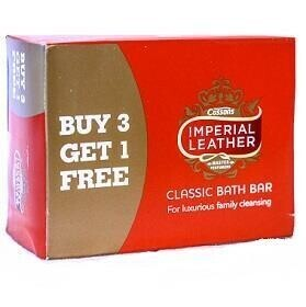 Bathroom Bully: Imperial leather soap 4x124g (3packs)