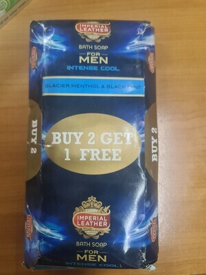 Bathroom Bully: Imperial leather  blue soap for men 175gx3 (3packs)