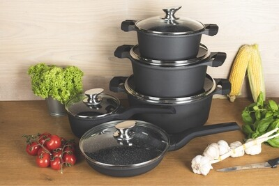 Edenberg Cookware Marble set 10pc EB 5650