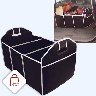 Car boot organizer 3 compartments L57cmXW32cm