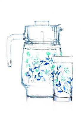 Luminarc Damara 7pc Water Set (1JUG + 6 GLASSES) Gift set