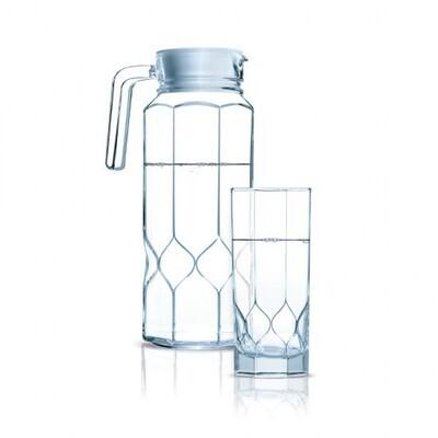 Luminarc Octime Diamond 7pc Water Set(1JUG + 6 GLASSES) Gift set