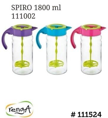 Renga spiro mixing jug pitcher 1.8L