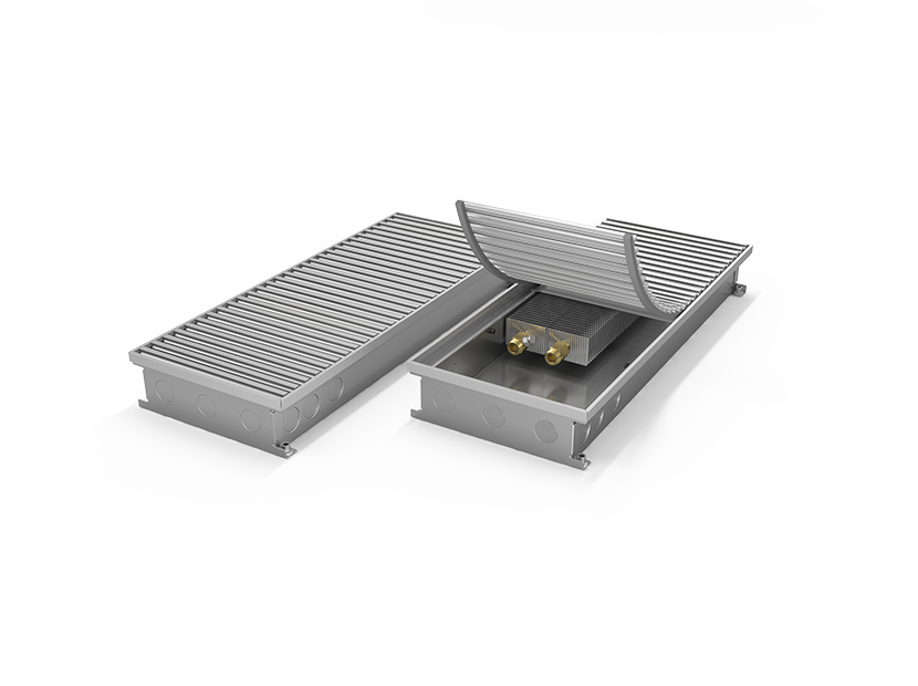 Конвектор внутрипольный MINIB RT без вентилятора PB110 110-180-2500