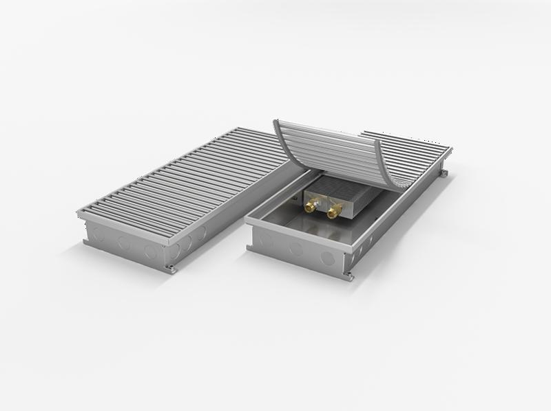 Конвектор внутрипольный MINIB RT с вентилятором T80 80-243-3000