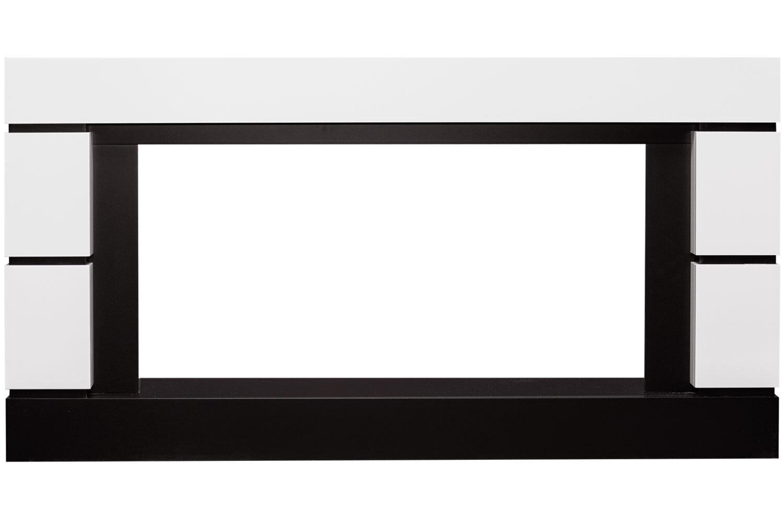 Портал Modern - Белый с черным (Глубина 300 мм)