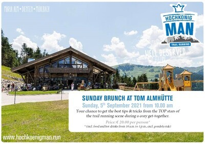 Sunday Brunch auf der Tom Almhütte