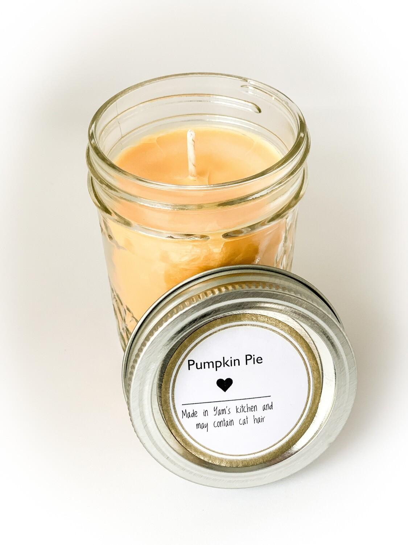 8oz Pumpkin Spice Yam Candle