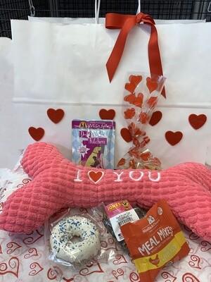 Dog Valentine's Day Gift Bag