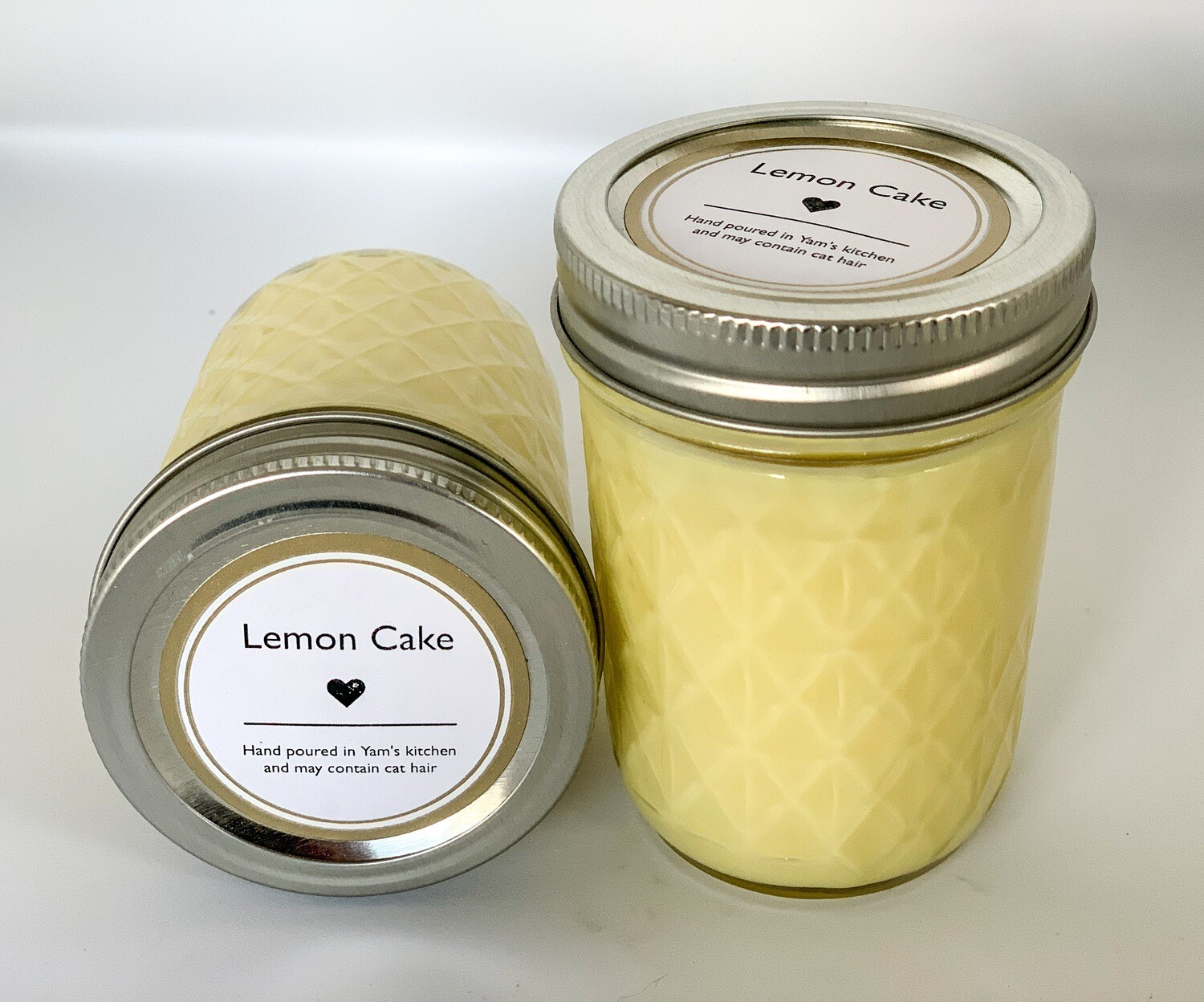 Lemon Cake 8oz Soy Candle
