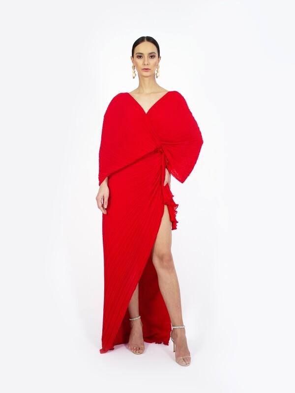 BACKLESS BUTTERFLY DRESS
