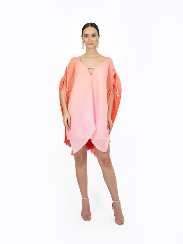 OMBRE BUTTERFLY DRESS