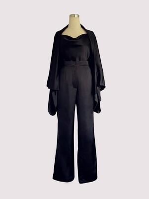 THE ALIA PANTSUIT - BLACK