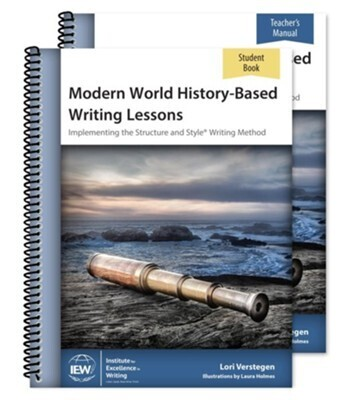IEW's Modern World History-Based Writing Lessons (Teacher/Student Combo)