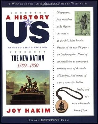 A History of US: The New Nation: 1789-1850 Vol. 4