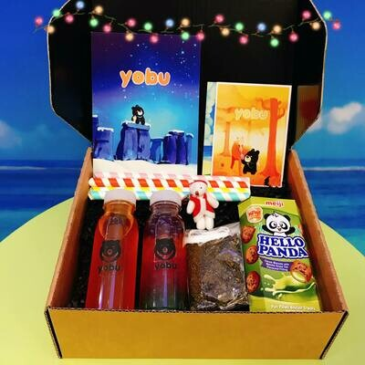 Christmas Bubble Tea Making Postal Gift Box - Fruit Tea (pre-order for in-store collection or shipping nationwide)