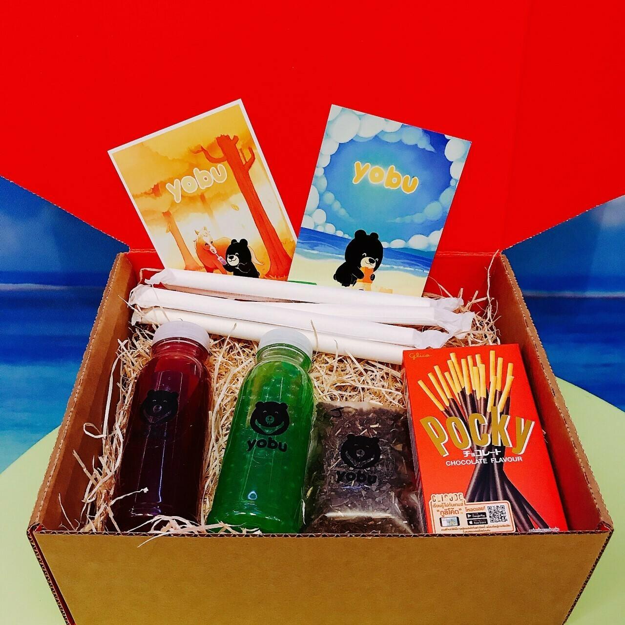 Bubble Tea Making Postal Gift Box - Fruit Tea