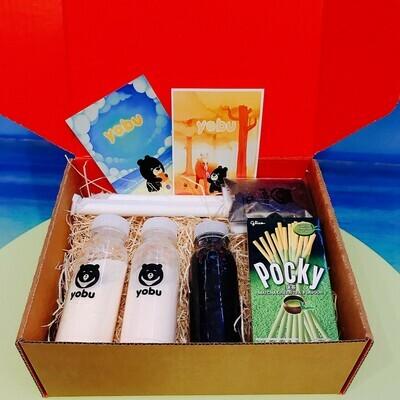 Bubble Tea Making Postal Gift Box - Milk Tea