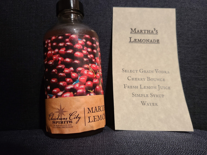 Martha's Lemonade To Go drink