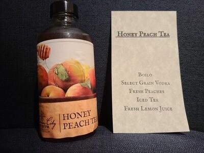 Honey Peach Tea To Go drink