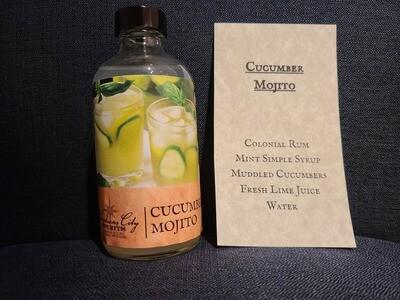 Cucumber Mojito To Go drink