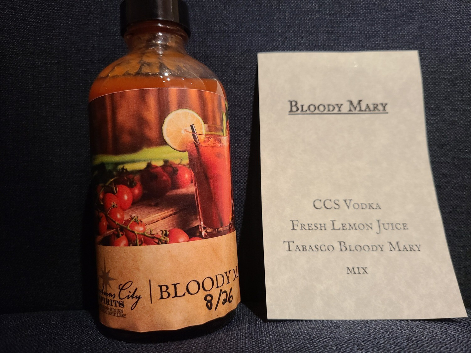 Bloody Mary To Go drink