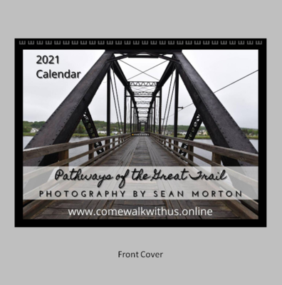2021 Wall Calendar - Pathways of the Great Trail