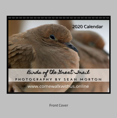 2021 Wall Calendar - Birds of the Great Trail