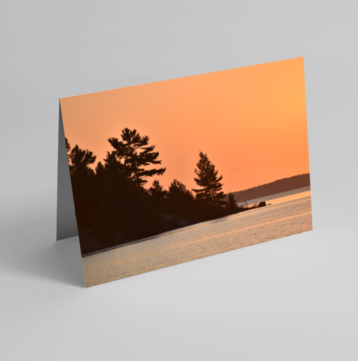 Set of 6 Folded Note Cards - Landscapes No. 2