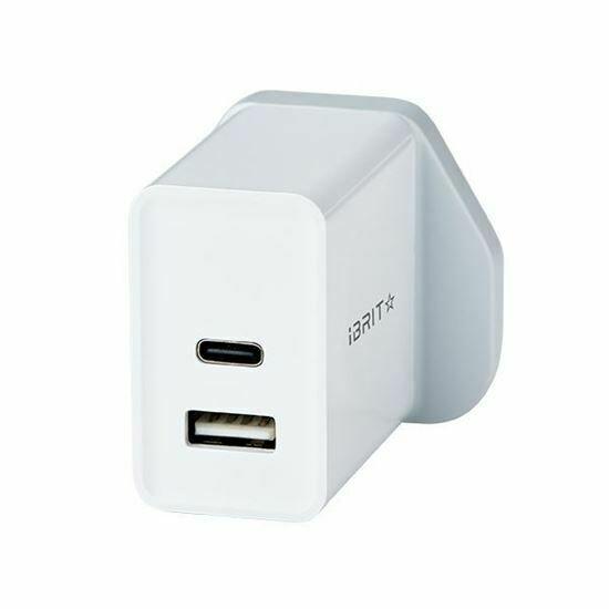 iBRIT Casa USB Wall Charger (UK Standard)