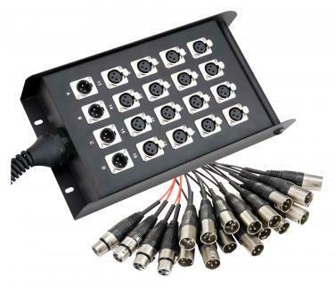 EMC 16/4 XLR Multicore 30 Mètres