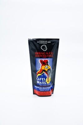 Bolsa de 20 cápsulas compatible cafetera nespresso
